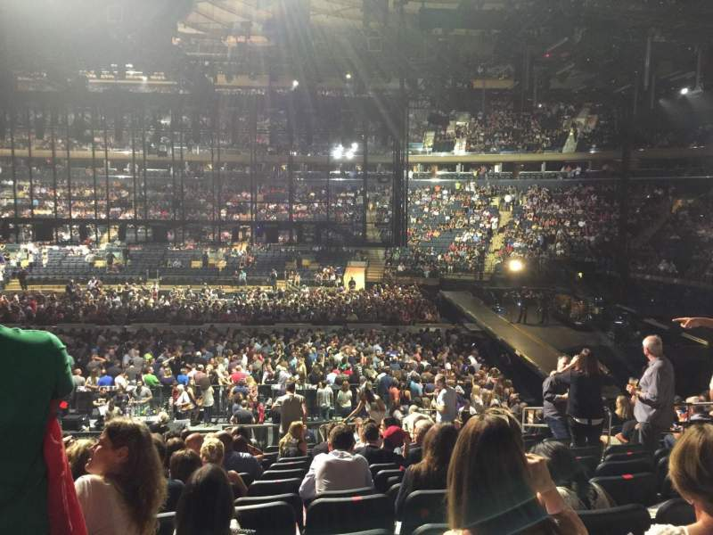 Madison Square Garden, section: 108, row: 17, seat: 15