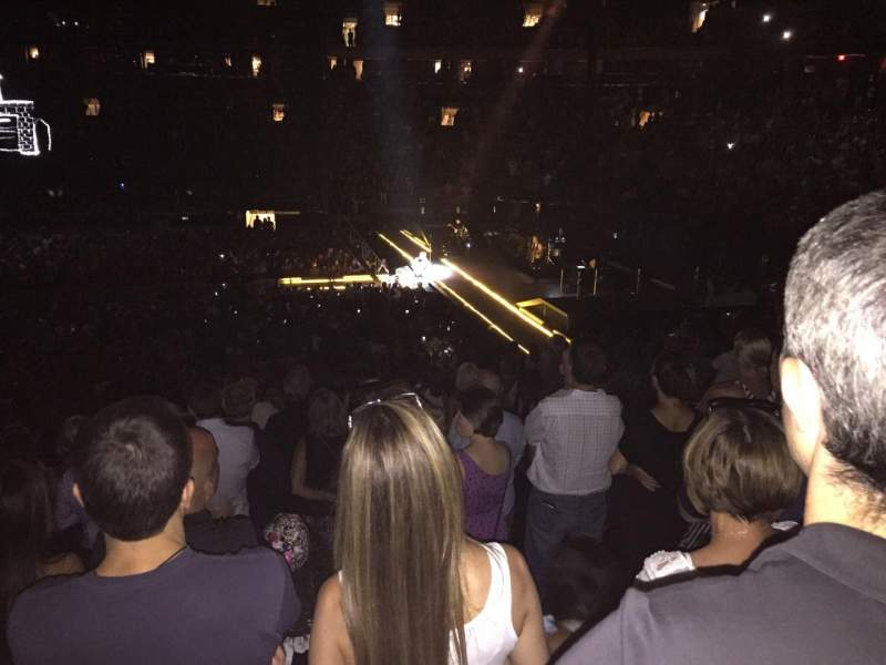 Seating view for Madison Square Garden Section 109 Row 19 Seat 15