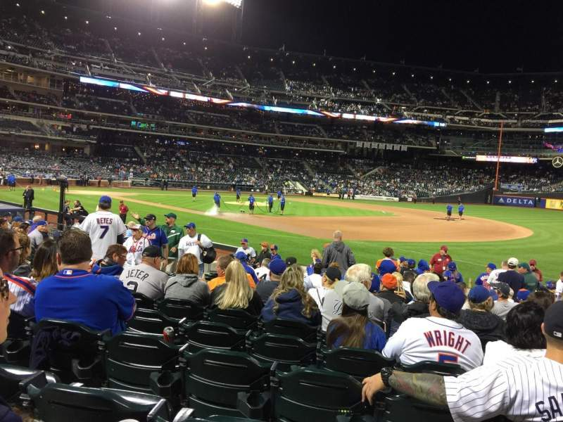 Seating view for Citi Field Section 110 Row 11 Seat 13