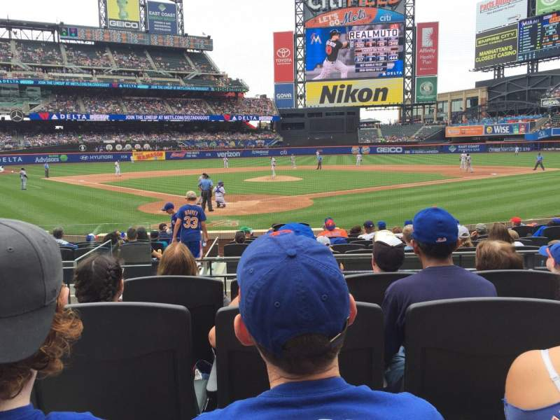 Seating view for Citi Field Section 14 Row 13 Seat 4