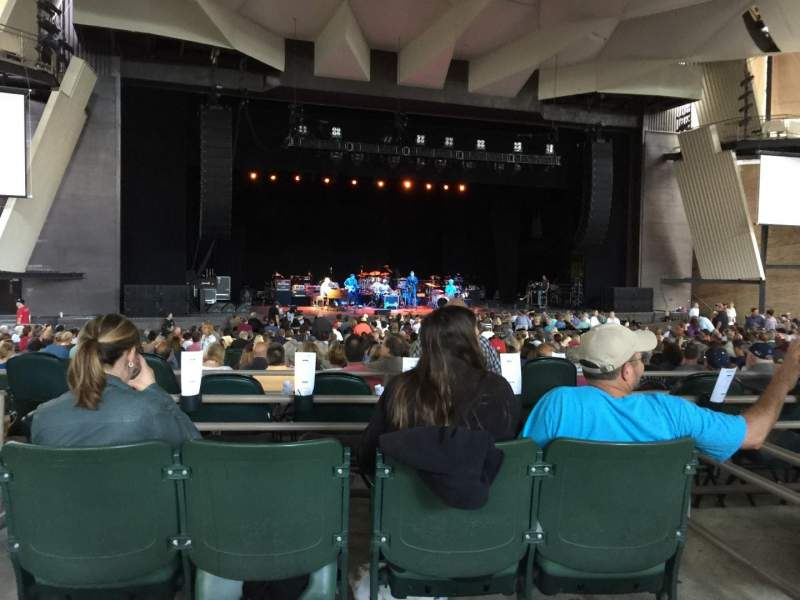 Seating view for Saratoga Performing Arts Center Section 19 Row AA Seat 7