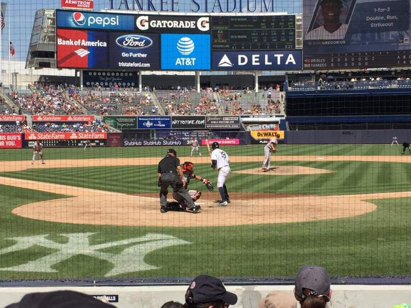 Seating view for Yankee Stadium Section 019 Row 5  Seat 6