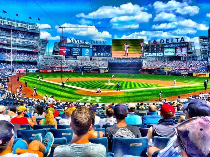Seating view for Yankee Stadium Section 120A Row 11 Seat 3