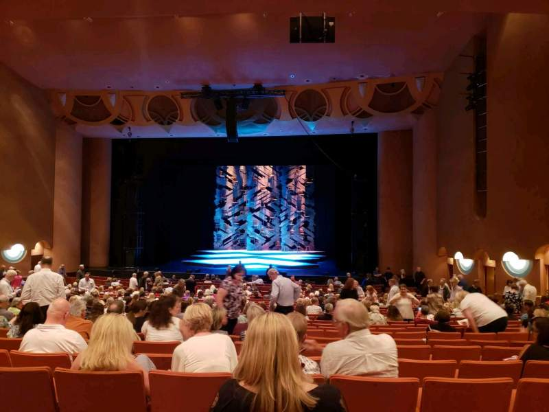 Seating view for ASU Gammage Section Orcha2 Row 22 Seat 20