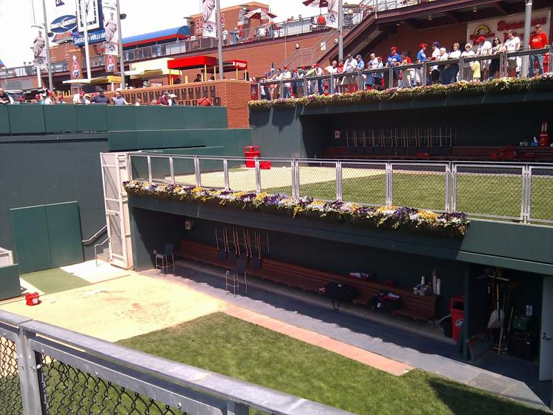Seating view for Citizens Bank Park Section 101 Row 7 Seat 15