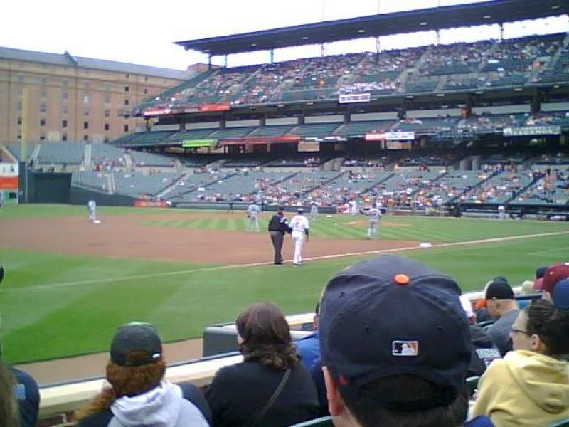 Seating view for Oriole Park at Camden Yards Section 60 Row 5 Seat 9