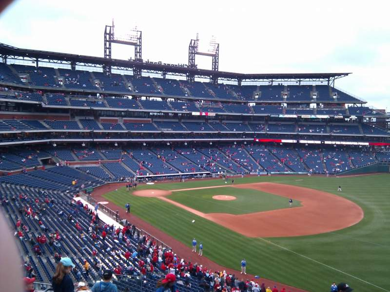 Seating view for Citizens Bank Park Section 209 Row 9 Seat 19