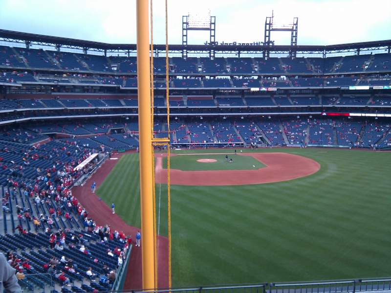 Seating view for Citizens Bank Park Section 205 Row 7 Seat 15