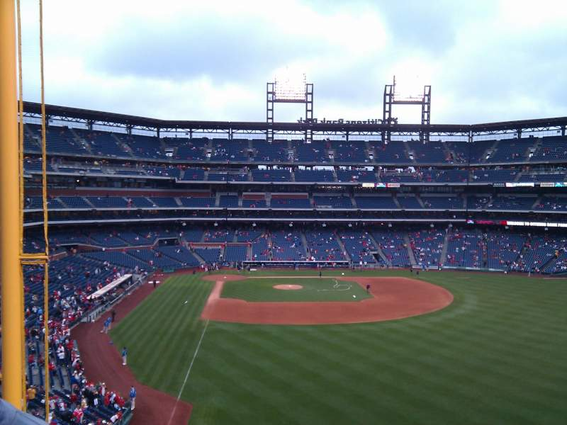 Seating view for Citizens Bank Park Section 205 Row 7 Seat 4