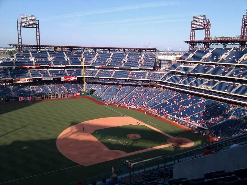 Seating view for Citizens Bank Park Section 429 Row 11 Seat 10