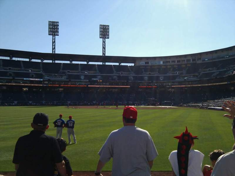 Seating view for PNC Park Section 236 Row c Seat 4