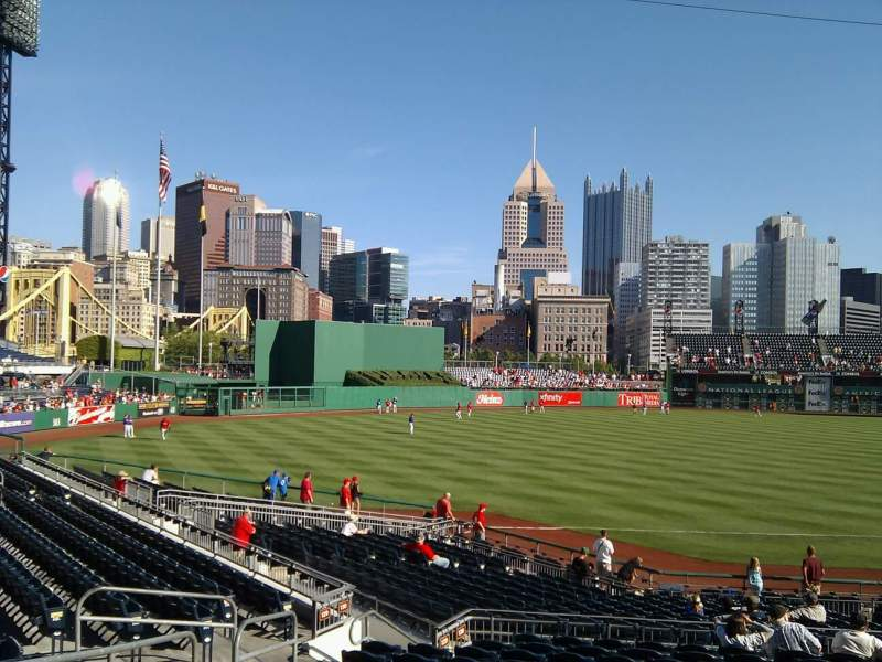 Seating view for PNC Park Section 128 Row p Seat 20