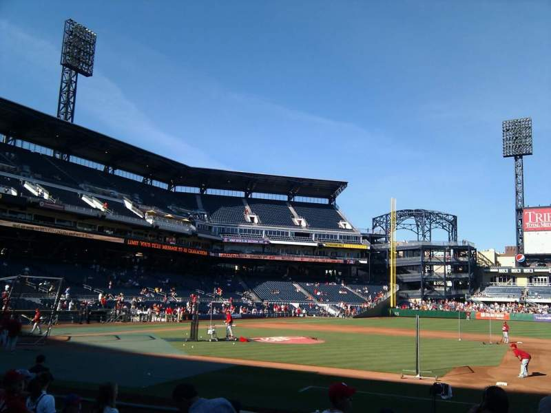 Seating view for PNC Park Section 9 Row m Seat 1