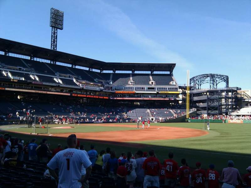 Seating view for PNC Park Section 6 Row k Seat 2
