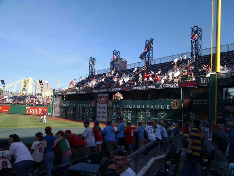 Seating view for PNC Park Section 2 Row e Seat 9