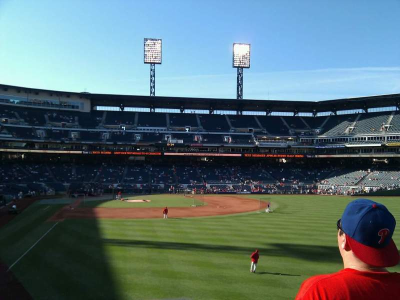 Seating view for PNC Park Section 144 Row c Seat 1