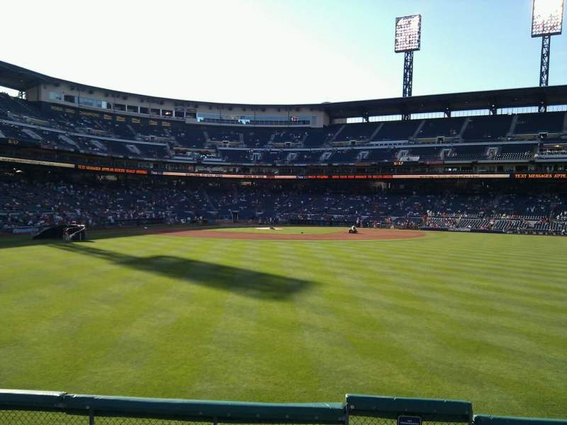 Seating view for PNC Park Section 141 Row f Seat 1