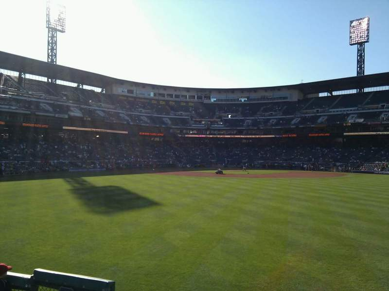 Seating view for PNC Park Section 139 Row f Seat 16