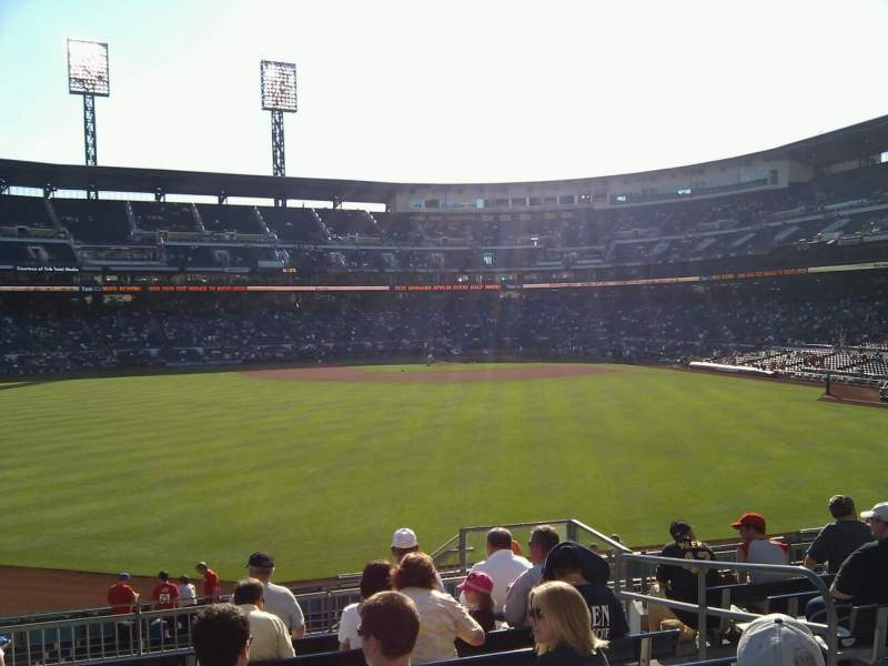 Seating view for PNC Park Section 237 Row j Seat 6