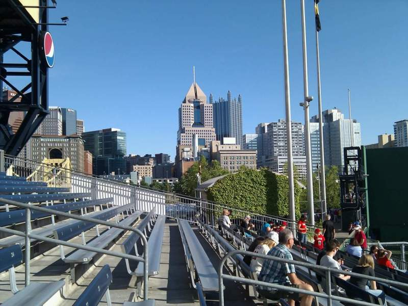 Seating view for PNC Park Section 236 Row j Seat 16