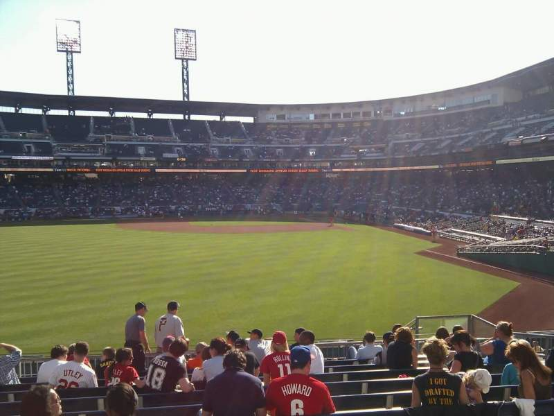Seating view for PNC Park Section 235 Row m Seat 10