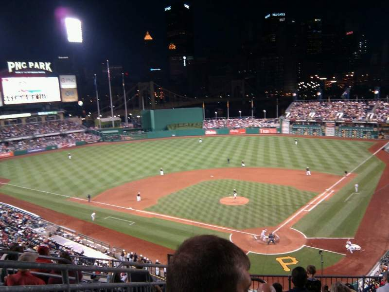 Seating view for PNC Park Section 216 Row j Seat 16