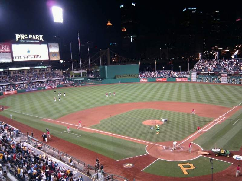 Seating view for PNC Park Section 217 Row a Seat 12