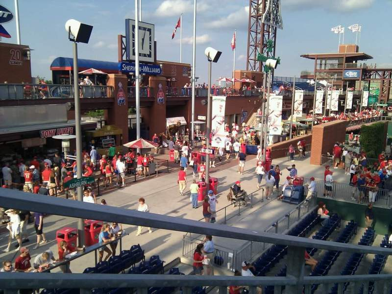 Seating view for Citizens Bank Park Section 245 Row 2 Seat 13