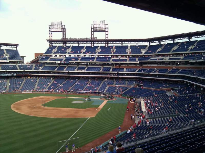 Seating view for Citizens Bank Park Section 237 Row 9 Seat 2