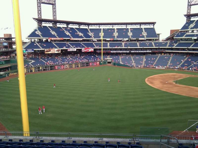 Seating view for Citizens Bank Park Section 237 Row 9 Seat 3