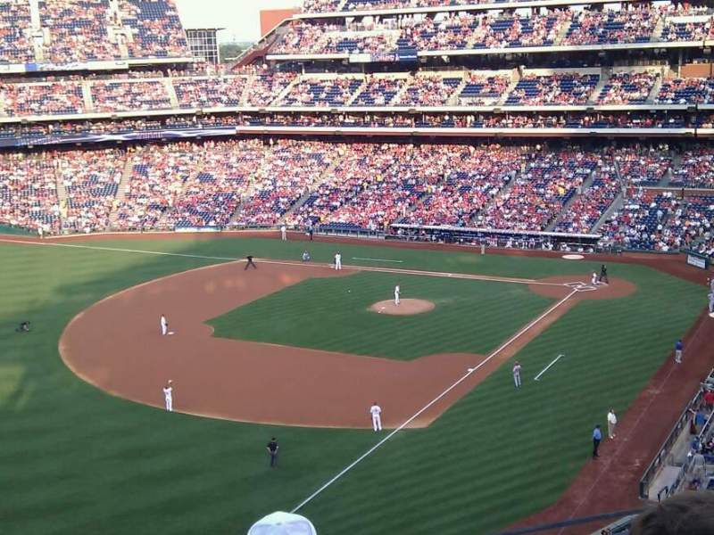 Seating view for Citizens Bank Park Section 332 Row 4 Seat 6