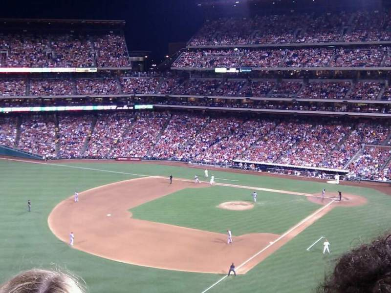 Seating view for Citizens Bank Park Section 332 Row 4 Seat 4