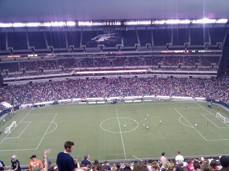 Seating view for Lincoln Financial Field Section 225 Row 23 Seat 34