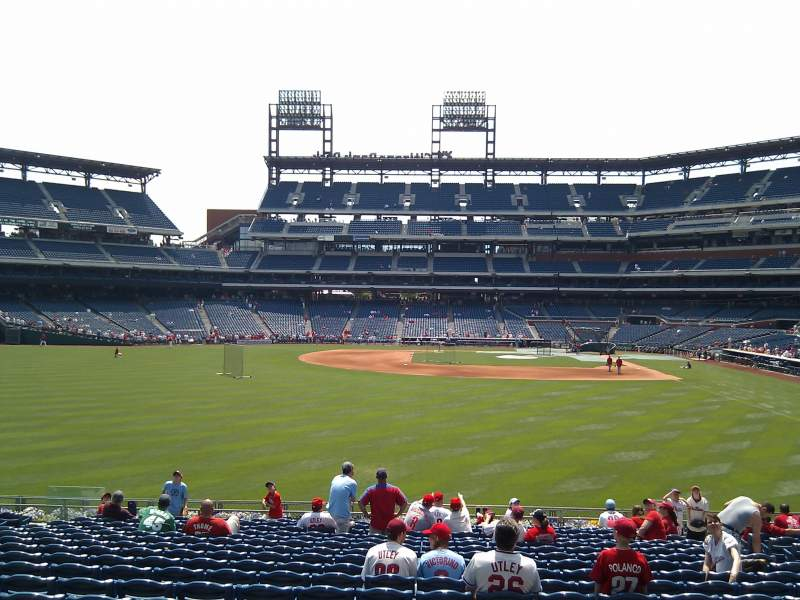 Seating view for Citizens Bank Park Section 143 Row 19 Seat 9