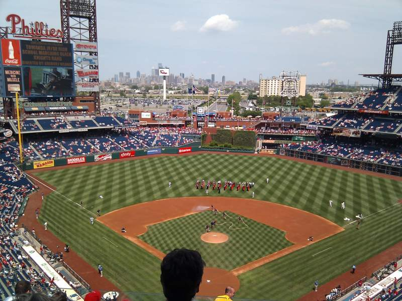 Seating view for Citizens Bank Park Section 420 Row 6 Seat 16