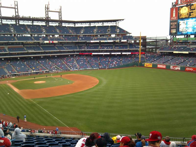 Seating view for Citizens Bank Park Section 207 Row 11 Seat 8