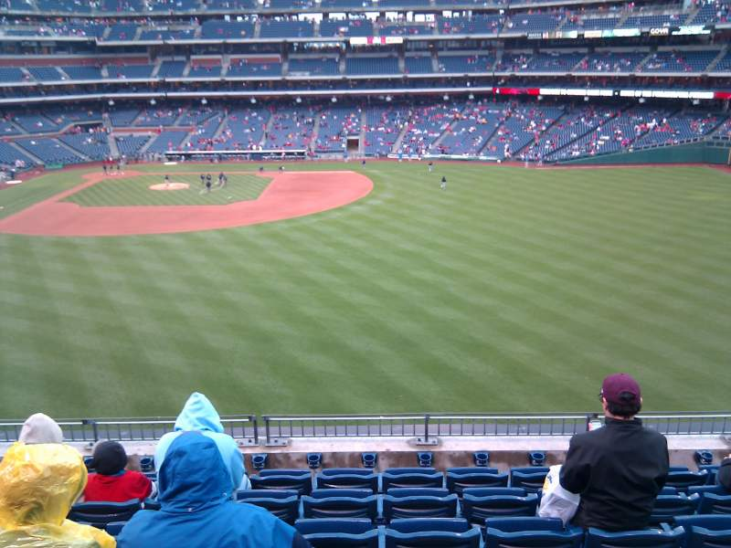 Seating view for Citizens Bank Park Section 301 Row 7 Seat 9