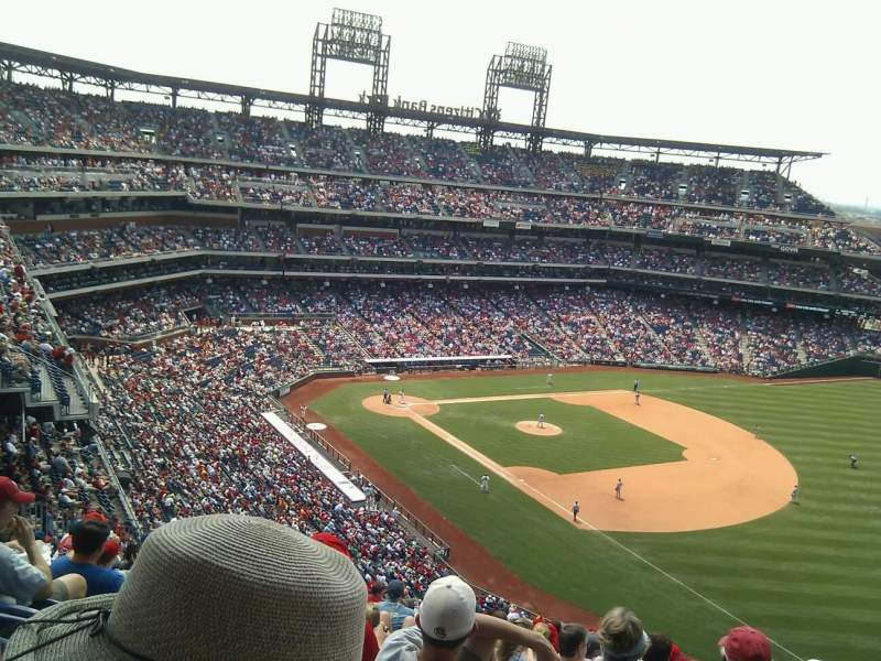 Seating view for Citizens Bank Park Section 310 Row 18 Seat 6