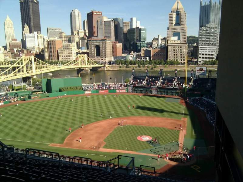 Seating view for PNC Park Section 320 Row x Seat 1