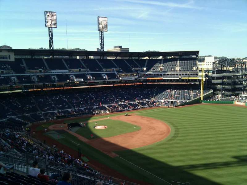 Seating view for PNC Park Section 301 Row l Seat 7
