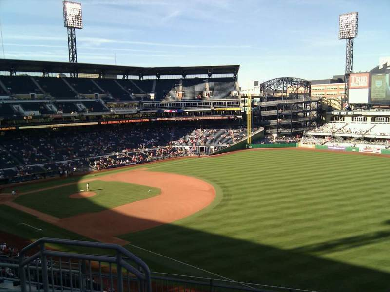 Seating view for PNC Park Section 203 Row g Seat 10