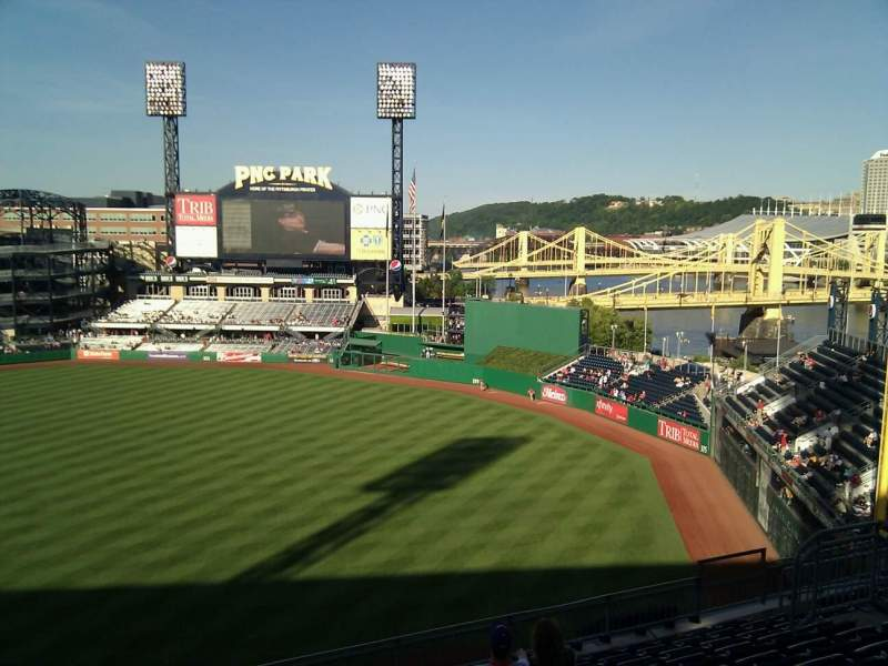 Seating view for PNC Park Section 204 Row k Seat 15