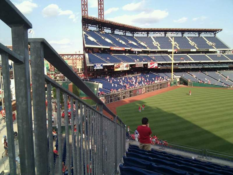 Seating view for Citizens Bank Park Section 245 Row 9 Seat 6