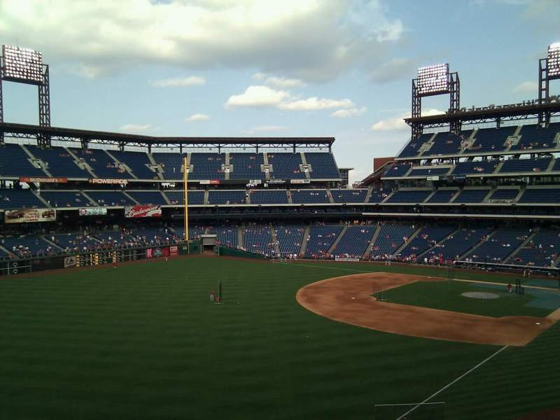 Seating view for Citizens Bank Park Section 237 Row 6 Seat 16