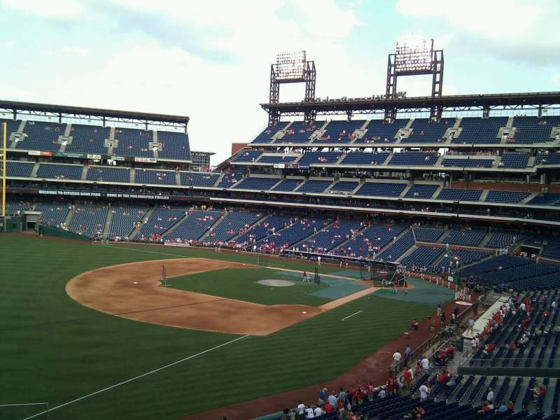 Seating view for Citizens Bank Park Section 235 Row 1 Seat 5