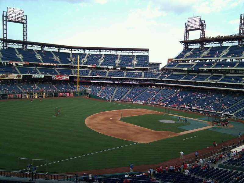 Seating view for Citizens Bank Park Section 234 Row 8 Seat 9