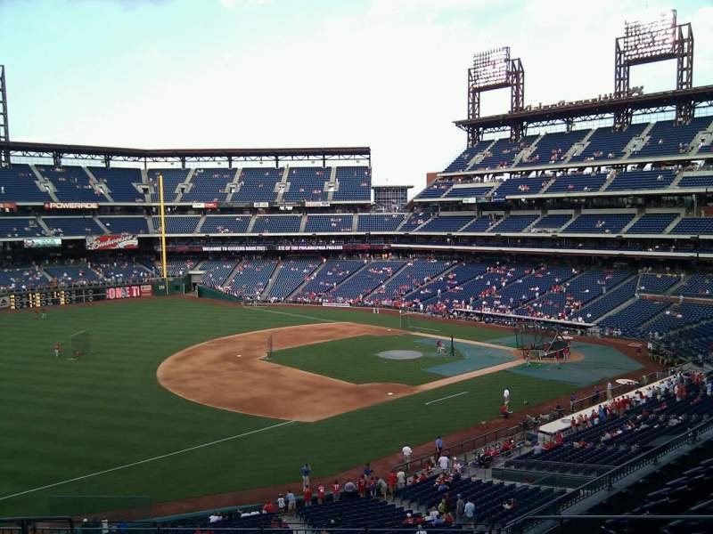 Seating view for Citizens Bank Park Section 233 Row 9 Seat 10