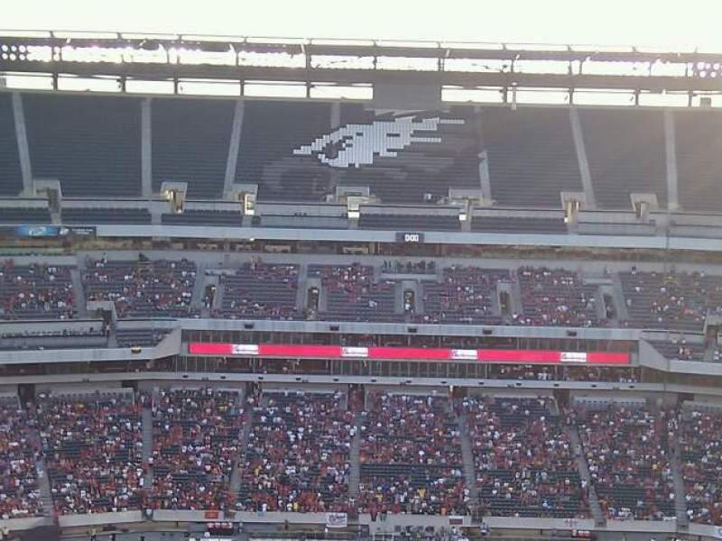Seating view for Lincoln Financial Field Section 225 Row 23 Seat 33