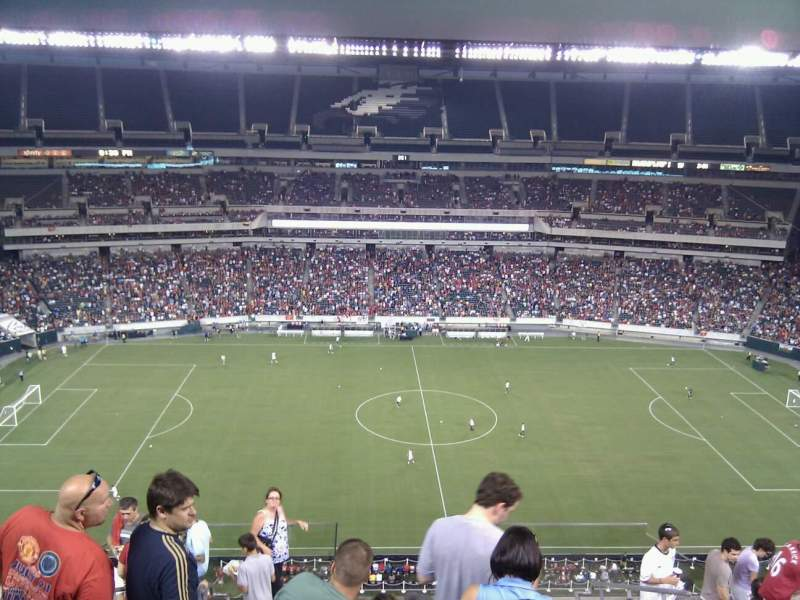 Seating view for Lincoln Financial Field Section 225 Row 15 Seat 37