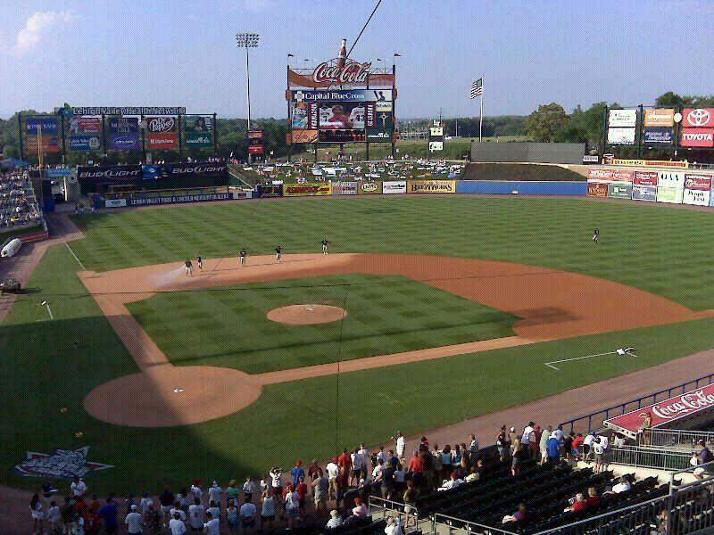 Seating view for Coca-Cola Park Section 311 Seat 8